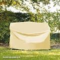 Videx-Gartenmöbel-Schutzhülle für Hollywoodschaukel, beige, L:210, B:145, H:150cm von VIDEX GmbH & Co. KG - Gartenmöbel von Du und Dein Garten