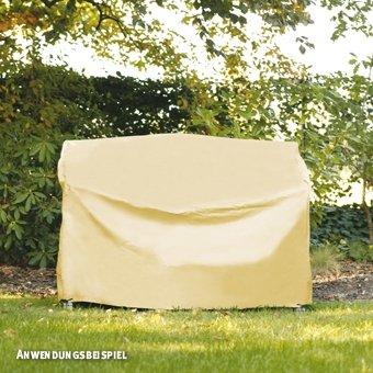 Videx-Gartenmöbel-Schutzhülle für Hollywoodschaukel, beige, L:160, B:145, H:150cm günstig bestellen