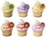 Disney WreckIt Ralph and Racers Cupcake Rings 12 Pack