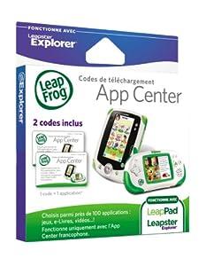 LeapFrog 88150 - Pack con 2 tarjetas de descarga para Leapster Explorer [importado de Francia]
