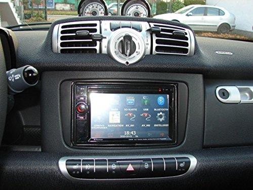 Radioblende-DoppelDIN-DIN-smart-fortwo-451-ab-Oktober-2010