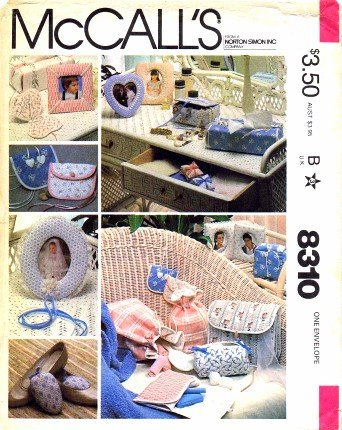 McCall's 8310 Vintage Crafts Sewing Pattern Bazaar Package