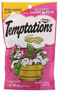Whiskas 12-Pack Temptations Blissful Catnip, 3-Ounce