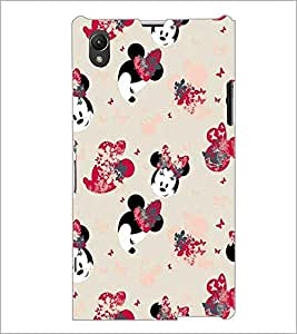 PrintDhaba Minnie Mouse D-2174 Back Case Cover for SONY XPERIA Z1 (Multi-Coloured)