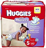 Huggies Supreme Little Movers Diapers Mega Pack 5 - 40 ct., Size 5