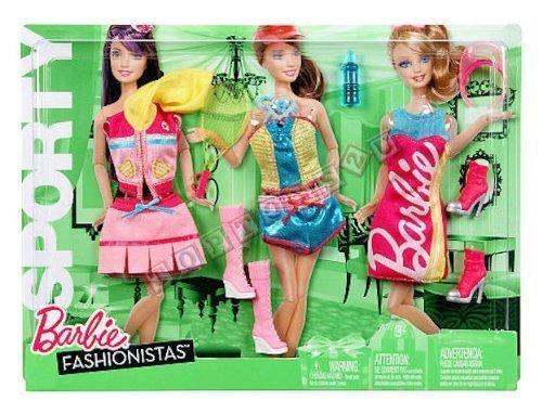 Barbie Mattel - moda accessori - moda i vestiti del partito Y7095