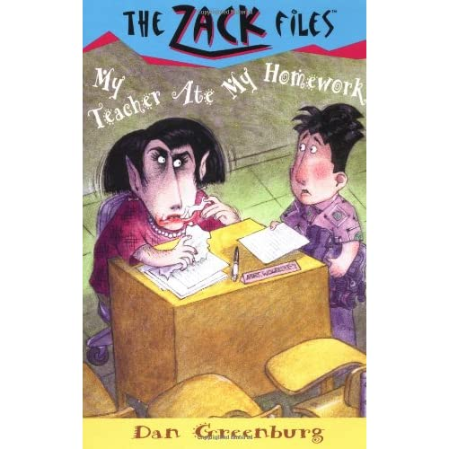 Zack-Files-27-My-Teacher-Ate-My-Homework-Greenburg-Dan-Author-Davis-Jack-E