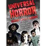 Universal Horror: Classic Movie Archive (The Black Cat / Man Made Monster / Horror Island / Night Monster / Captive Wild Woman) ~ Basil Rathbone