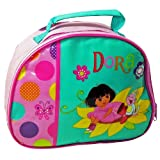 DORA THE EXPLORER GIRLS INSULATED SCHOOL LUNCH BOX SANDWICH COOL BAG GIFT NEW