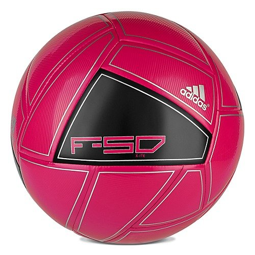 ADIDAS F50 X-ITE FOOTBALL SIZE 5 SOCCER BALL TRAINING BLACK BRIGHT CHERRY NEW