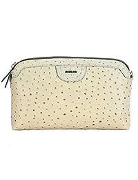 Adamis Beautiful Designed Handbag (Beige_B703)