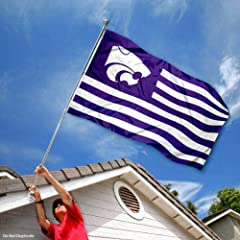 Buy Kansas State Wildcats KSU Alumni Nation Stripes Flag by College Flags and Banners Co.