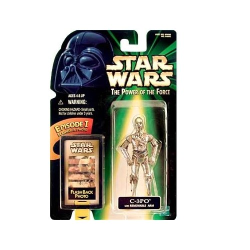 Star Wars: Power of the Force Flashback and gt; C-3PO Action Figure - 1