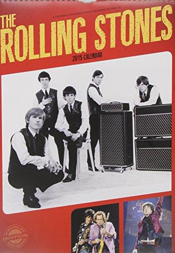 Rolling Stones Calendar 2015 (Red Star)