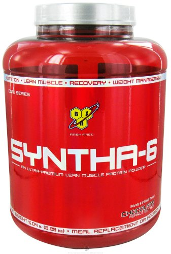 Bsn - Syntha-6 Sustained Release Protein Powder Chocolate Peanut Butter - 5.04 Lbs.