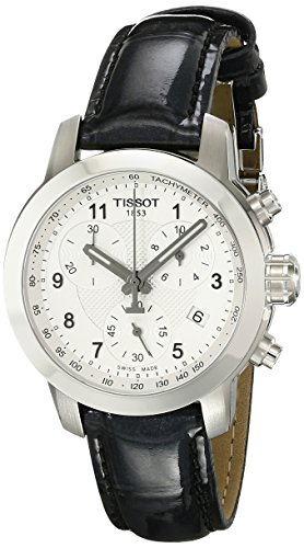 Tissot PRC 200 Leather Chronograph Ladies Watch T0552171603202