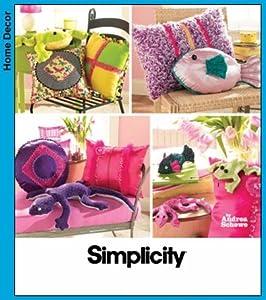 Amazon Com Simplicity Simply Teen Pillows And Bean Bag