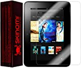 """Skinomi® TechSkin - Kindle Fire HD 7"""" Screen Protector Premium HD Clear Film with Lifetime Replacement Warranty / Ultra High Definition Invisible and Anti-Bubble Crystal Shield - Retail Packaging"""