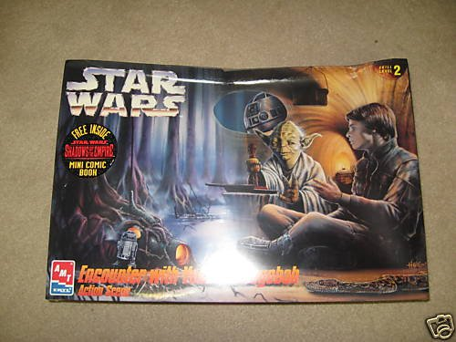 STAR WARS Encounter with Yoda on Dagobah Action Scene Model Skill 2