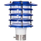 Micron Gate Light Elegant Blue Waterproof Fabulous Outdoor Gate Light