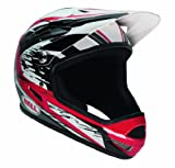 Bell Sanction 2013 Helmet, Red/Black White Splatter, Small
