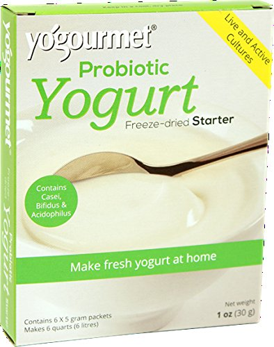 Yogourmet Casei Bifidus Acidophilus Probiotic Yogurt Starter, 1 Ounce, 6-Count Boxes (Pack of 2) (Yogurt Starter Culture Organic compare prices)