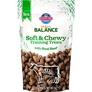 Soft and Chewy Training Treats with Real Beef Dry Dog Food (3-oz): Dry Pet Food: Pet Supplies ...