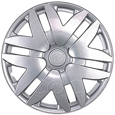 """4 Piece 16"""" Silver Hubcaps, Toyota Sienna Replica, ABS Protection"""