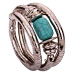 Yazilind Jewelry Vintage Tibetan Silv...