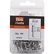 Do it Best Global Sourcing 381675 Do it Best POP Rivets-1/8X1/4 ALUM RIVET
