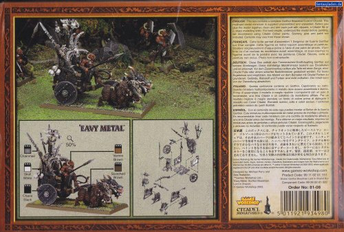 Games Workshop Gorthor Beastmen Lord in Chariot Box Set