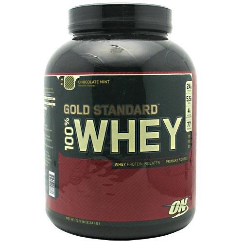 Optimum Nutrition 100% Whey Gold Standard, Chocolate Mint, 5 Pound