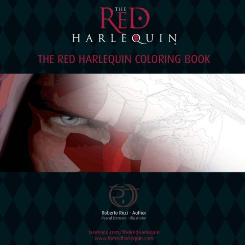 Download The Red Harlequin Adult Fantasy Coloring Book PDF ePub ...