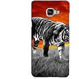 PrintVisa Designer Back Case Cover For Samsung Galaxy On Max (Tiger In A Field)
