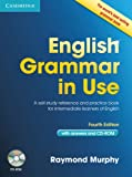 img - for English Grammar in Use with Answers and CD-ROM: A Self-Study Reference and Practice Book for Intermediate Learners of English book / textbook / text book