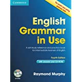 "English Grammar in Use with Answers and CD-ROM: A Self-study Reference and Practice Book for Intermediate Learners of Englishvon ""Raymond Murphy"""