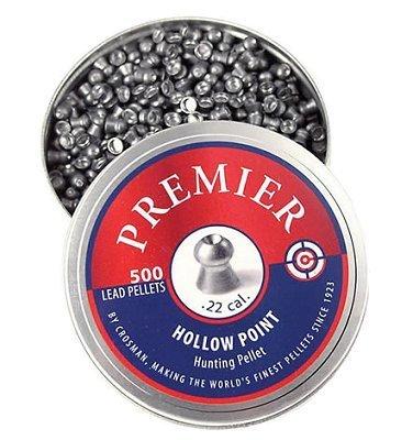 Crosman LPH .22 Caliber Hollow Point Pellets, 500-Pack