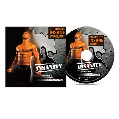 Insanity Fast & Furious DVD Workout