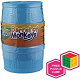 Barrel of Monkeys w/ FREE Brybelly Puzzle Cube