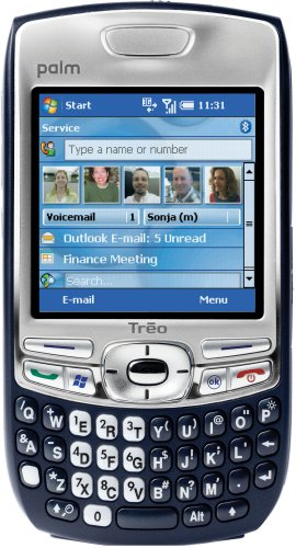 Palm Treo 750 Unlocked Phone with 3G, MP3/Video Player, and MiniSD Slot–U.S. Version with Warranty