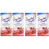 Crystal Light  Natural Cherry Pomegranate, 10-Count Boxes (Pack of 4)