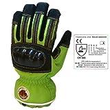Schmitz Mittz RescueX Extrication Waterproof Safety Gloves - High Viz Green EXTRA EXTRA SMALL (Color: High Viz Green, Tamaño: XXS)