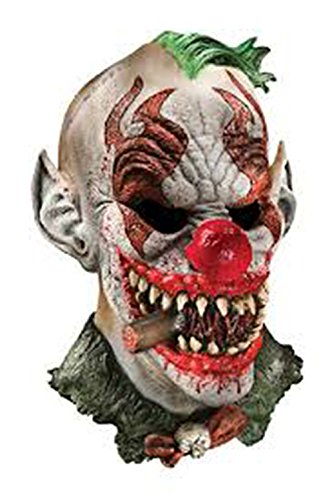 Halloween Foam Latex Mask, Clown-Adult Mask Toy