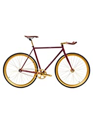 State Bicycle Core Model Fixed Gear Bicycle - Vintage 2.0, 52 cm