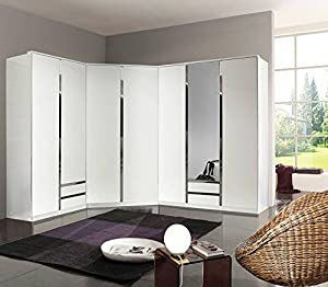 portes programme en blanc et chrome par 2 portes armoire largeur 90 cm si c 39 est un placard d. Black Bedroom Furniture Sets. Home Design Ideas