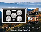 2014 United States Mint America the Beautiful Quarters Silver (Q5F) Proof Set