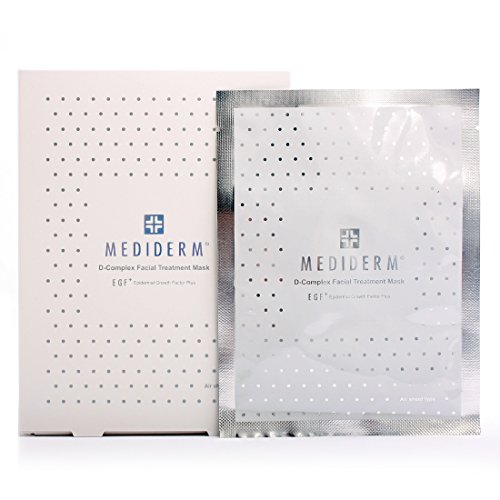 Mediderm Egf Plus D-Complex Facial Treatmet Mask Air Sheet 26Ml X 10Pcs