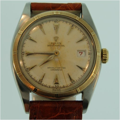 Buy Vintage/Antique watch: Rolex Overtone, Big Bubble Back, 14k and Steel, ca.1953