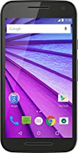 Motorola Moto G 3. Generation Smartphone (12,7 cm (5 Zoll) Touchscreen-Display, 8 GB Speicher, Android 5.1.1) schwarz
