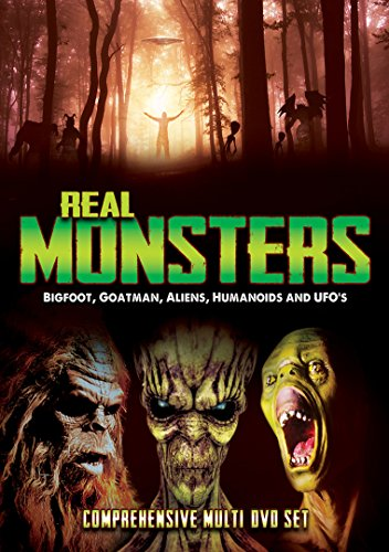 Real Monsters: Bigfoot Goatman Aliens Humanoids [DVD] [Import]